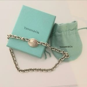 Authentic Please Return to Tiffany &Co. Choker